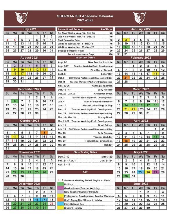 Sisd Calendar 2022.Headlines Features