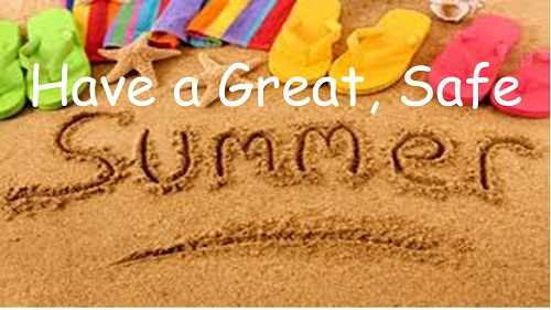 Have a Great Summer!