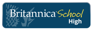 Britannica School encyclopedia logo