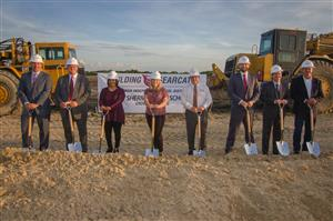 Board of Trustees at Groundbreaking Ceremony