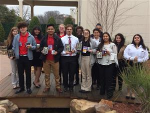 FCCLA students qualified for state