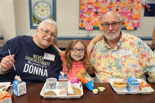Sherman ISD Welcomes Hundreds for Grandparents' Day Brunch