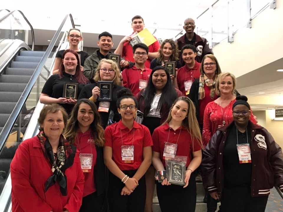 SHS Students Compete Well During Regional FCCLA Conference
