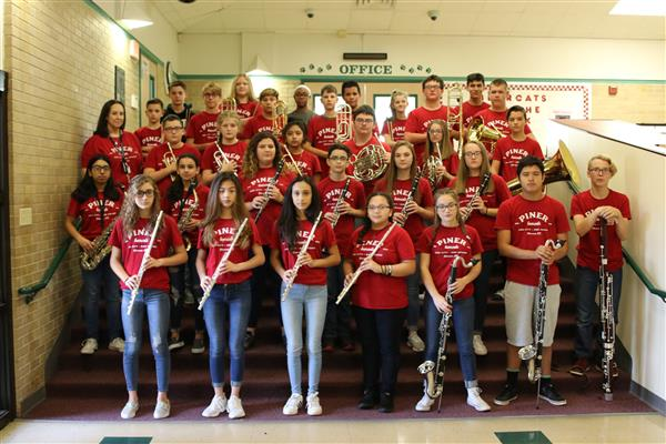 Piner Middle School Band Has Great All-Region Showing