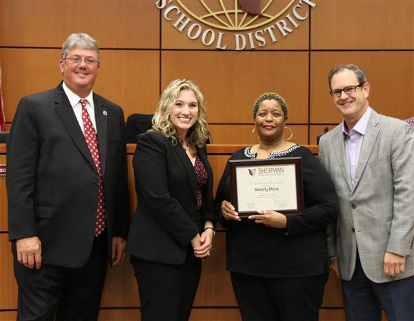 Crutchfield Staff Member Named Employee of the Month
