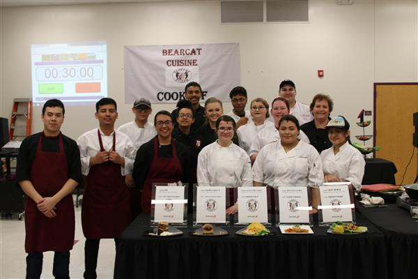 Sherman High School Culinary Team Advances to State Chef Competition