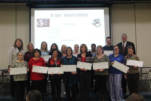 Sherman ISD Employees Enjoy District-Wide Incentive Programs