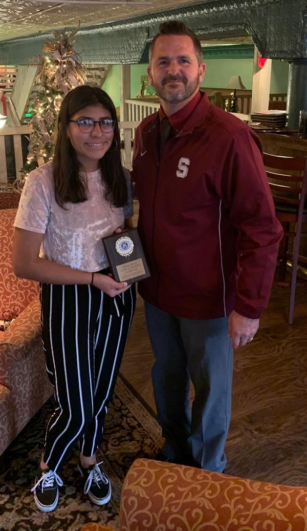 Sherman High School Senior Honored as Kiwanis Student of the Month