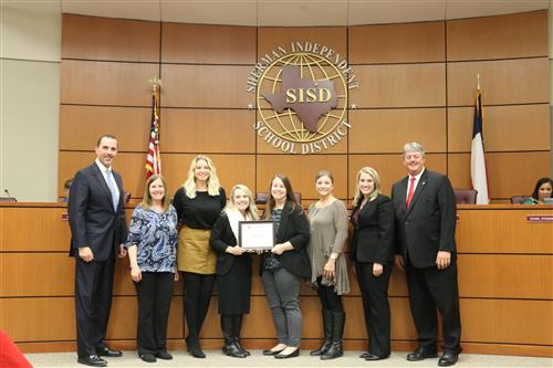 Neblett Elementary First Grade Team Named November Team of the Month