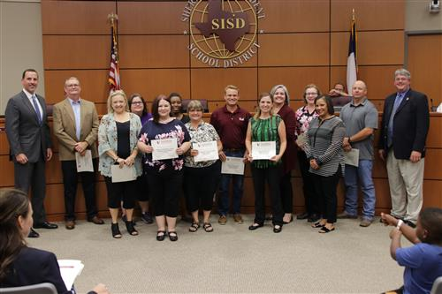 PTAs and Booster Clubs Receive Recognition