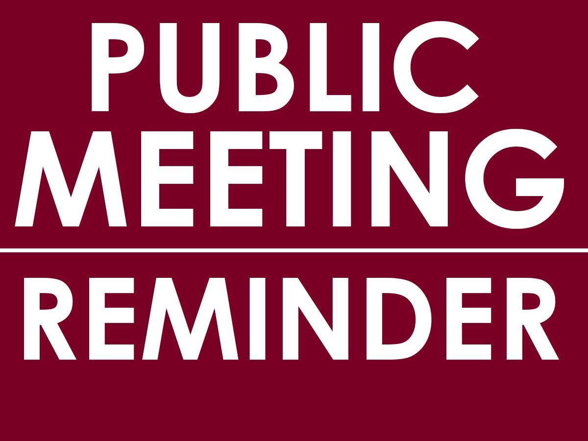 Public Meeting - Indian Education