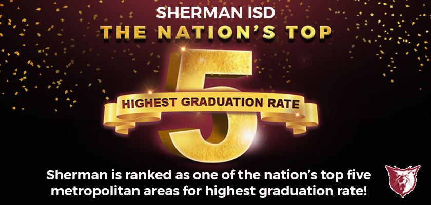 Sherman Among the Nation's Top Five for Highest Graduation Rate