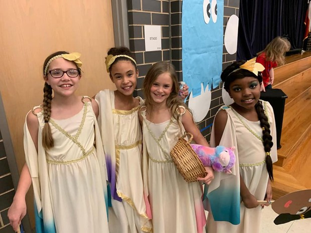 Challenge Program Hosts Greek Living Museum
