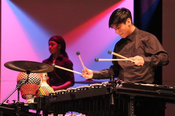 """A Slammin' Good Time""- SISD Bands Hold Annual Percussion Concert"
